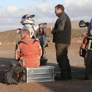 Alubox.com A081 Expedition in the Intercontinental Rally - the real way to Sahara, taking a break from the race