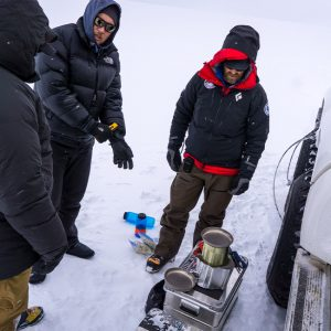Alubox.com Expeditions 7 to Greenland, ekspeditions kasser_stove1