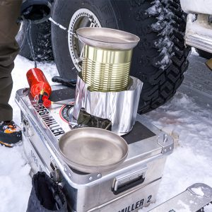 Alubox.com Expeditions 7 to Greenland, ekspeditions kasser_stove2
